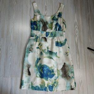 Banana Republic Dresses - Banana Republic 100% Silk Sleeveless Print Dress